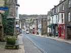 High Street in Pateley Bridge Yorkshire Dales
