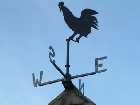 Weather vane in Grassington