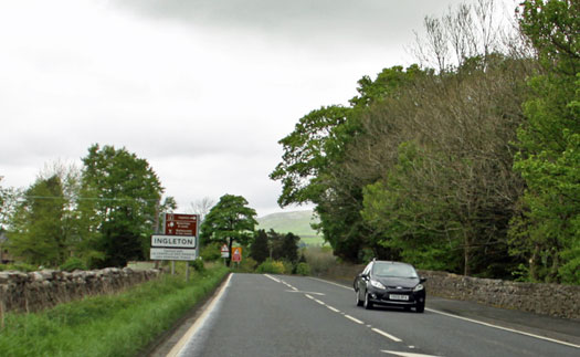 Approach to Ingleton Yorkshire