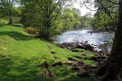 The River Ure, Wensleydale