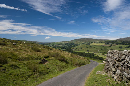 near Reeth Swale dale Yorkshire