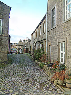 Visit Grassington with cobbled streets in the Yorkshire Dales
