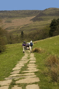 Pennine Way from Edale to Kirk Yetholm