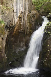 Visit waterfalls during your cottage holiday