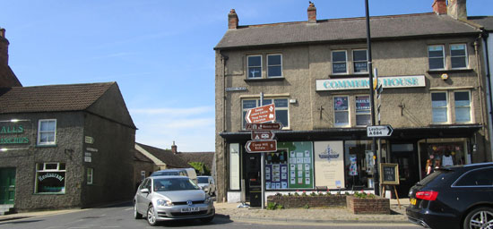 Bedale high street Yorkshire Dales