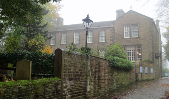 Bronte Parsonage Museum in Haworth, West Yorkshire