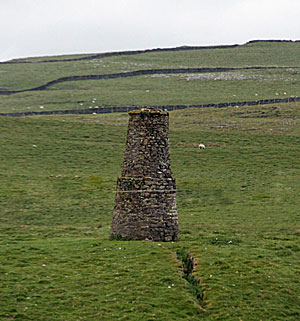 smelt chimney near malham tarn, Yorkshire dales