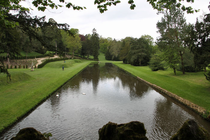 Fountains Abbey formal gardens