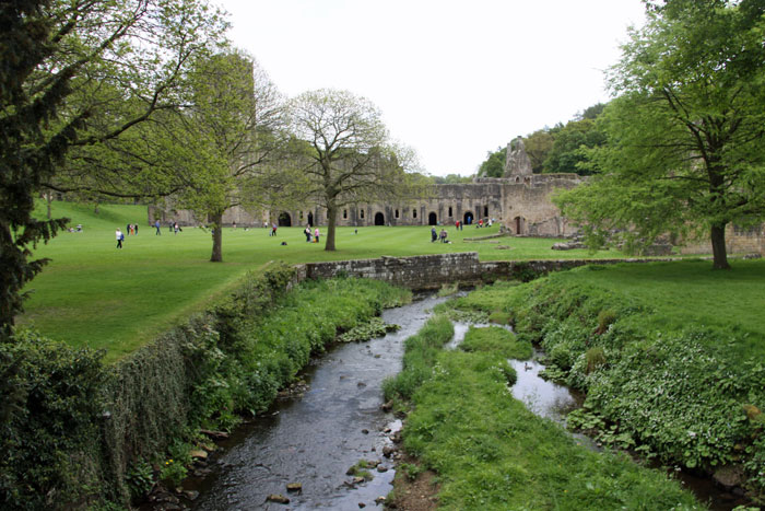 River at Fountains Abbey
