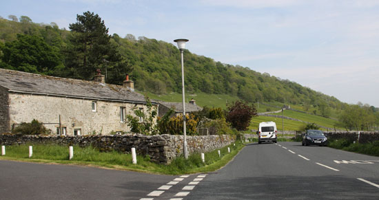 Kettlewell outskirts in the Yorkshire Dales