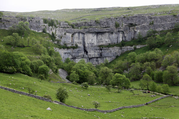limestone in the Yorkshire Dales