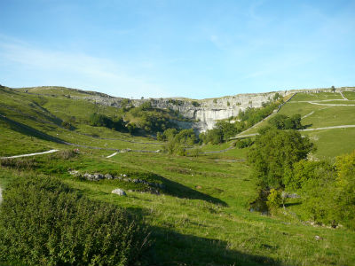 Malham Cove, National Trust site