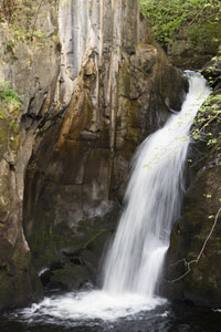 See this lovely Yorkshire dales waterfall during your cottage holiday in the Dales